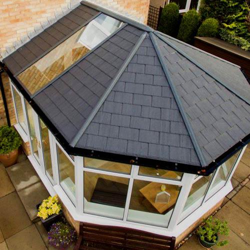 Interlocking Conservatory Roofs